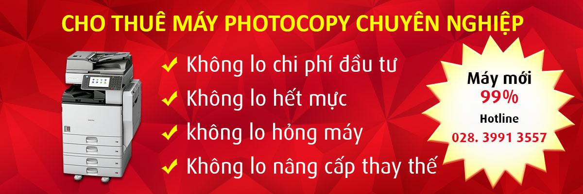 Cho thuê máy photocopy mpc 7501 giá rẻ