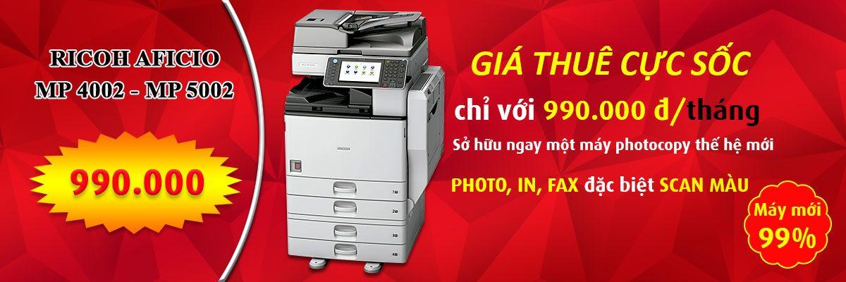 SUNCORP là thương hiệu hàng đầu bán máy photocopy Ricoh