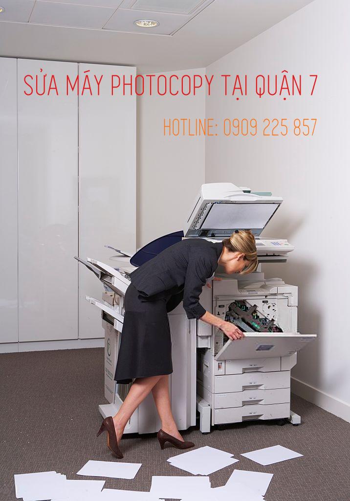 Sửa máy photocopy quận 7