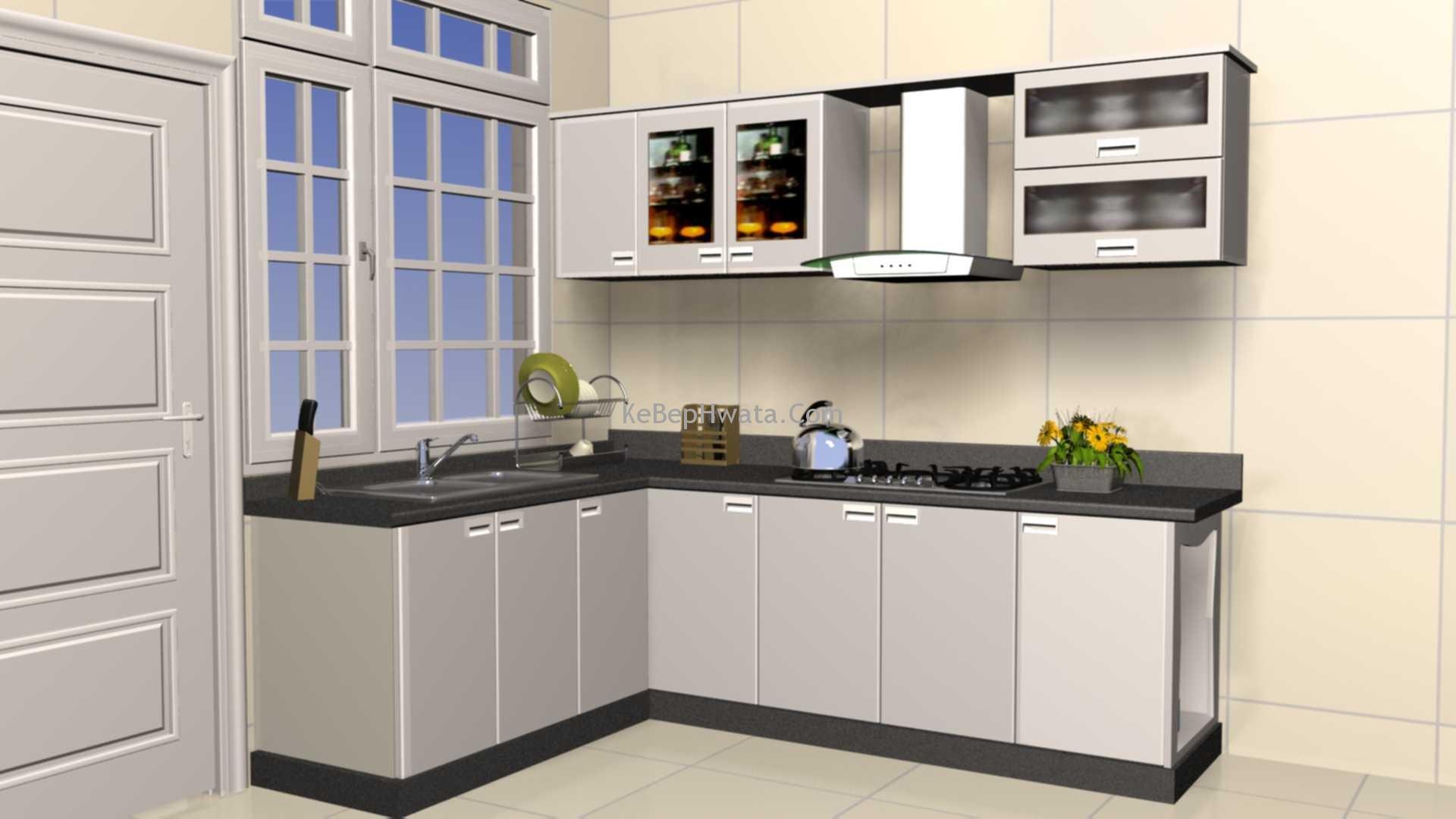 Tủ bếp inox đóng sẵn giúp gian bếp của bạn trở nên gọn gàng và sạch sẽ.