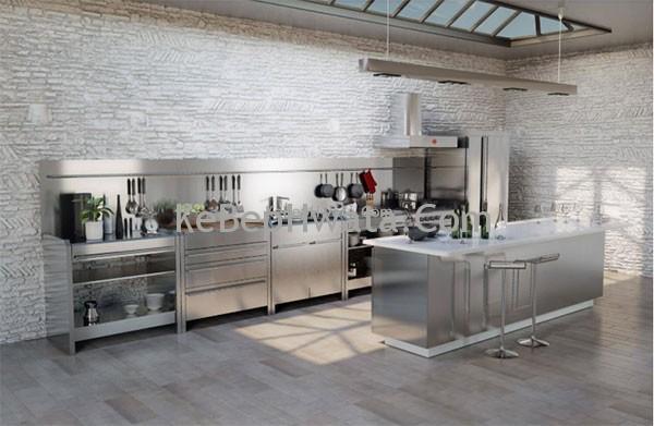 Tủ bếp inox bền đẹp