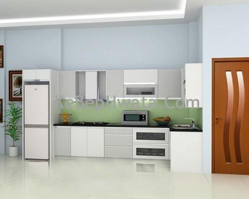 Tủ bếp inox đa dang, phong phú