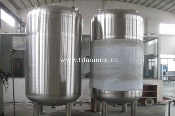 Bồn chứa công nghiệp làm từ inox 316