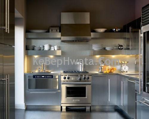 Tủ bếp inox tiện dụng