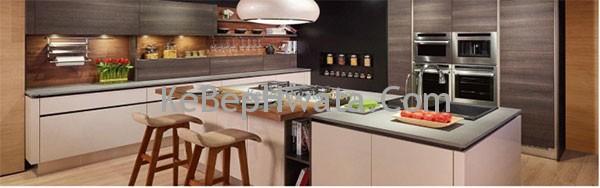Tủ bếp bằng inox được rất nhiều gia đình sử dụng hiện nay