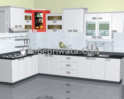 Tủ bếp bằng inox có nhiều mẫu mã cho khách hàng lựa chọn