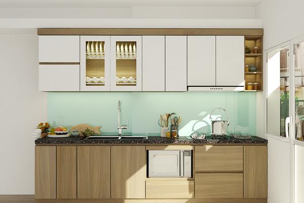 Kệ bếp Acrylic thiết kế tinh tế giúp mang đến không gian hiện đại, tiện nghiKệ bếp Acrylic thiết kế tinh tế giúp mang đến không gian hiện đại, tiện nghi