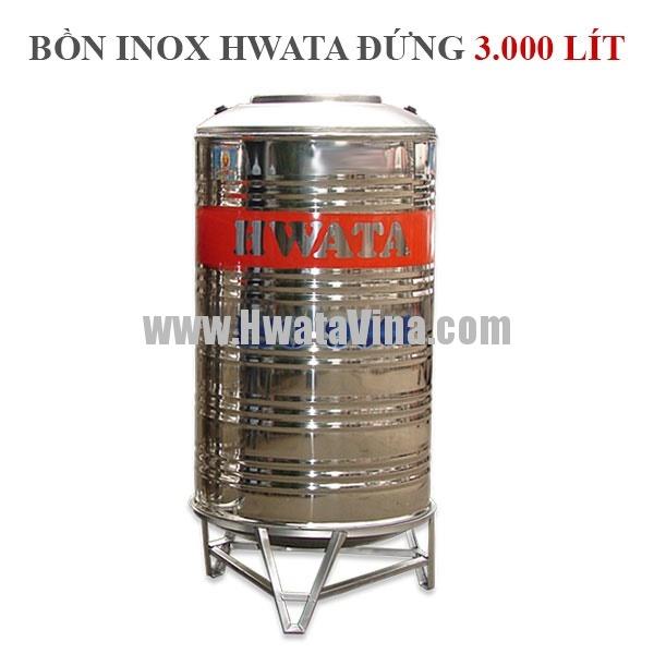 Bồn nước inox đứng 3000L