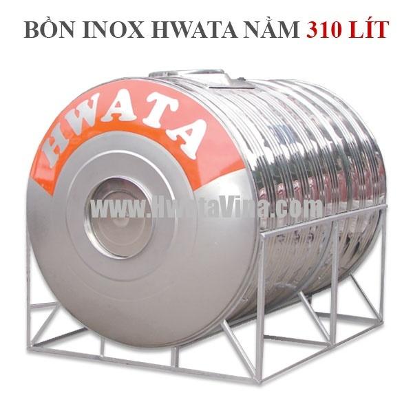 Bồn nước inox nằm 310 L