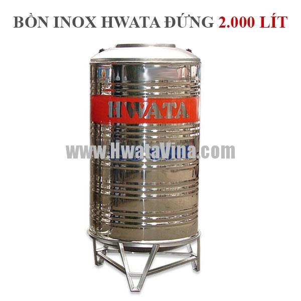 bồn nước inox 2000 lít