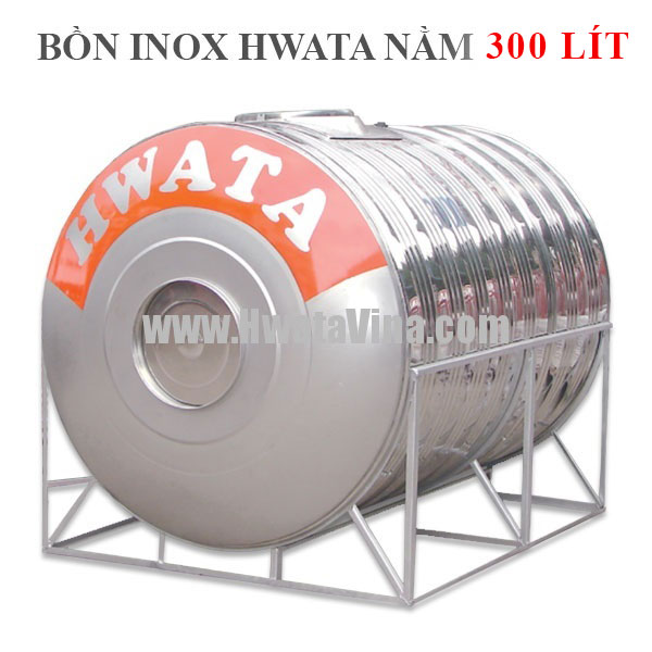 Bồn chứa nước inox dáng nằm