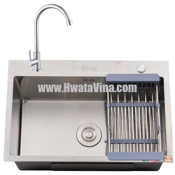 Kích thước bồn rửa chén 1 ngăn thường dành cho các không gian tủ bếp có diện tích nhỏ, nhu cầu sử dụng không lớn